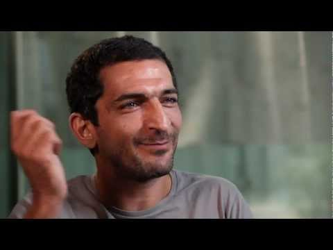 amr waked and scarlett johansson interview