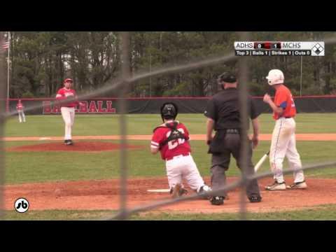 Athens Drive vs MCHS Baseball 03-07-2017
