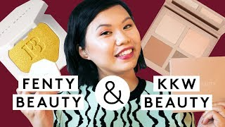 We Put KKW & Fenty Beauty Makeup To The 8 Hour Test | Beauty With Mi | Refinery29