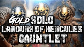 """SOLO """"LABOURS OF HERCULES"""" ANCIENT EVIL GAUNTLET (GOLD & FLAWLESS) ]