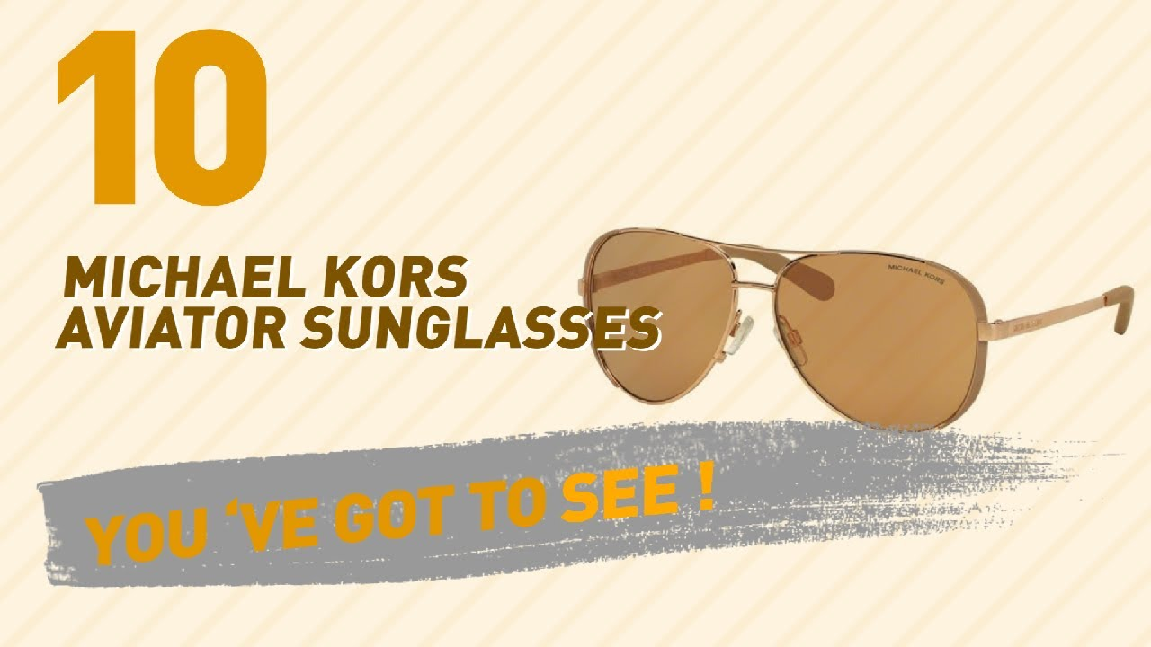 86c5a25f33 Michael Kors Aviator Sunglasses ...