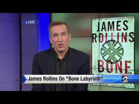 James Rollins on newly released Bone Labyrinth