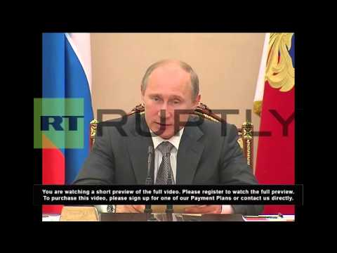 Russia: Putin calls for more effective response to cyber attacks