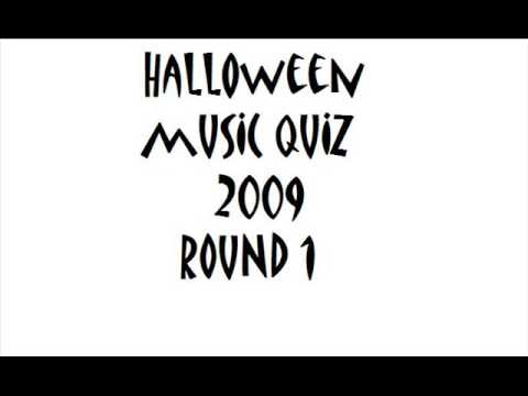 HALLOWEEN MUSIC QUIZ 2011 ROUND 1 with answers in