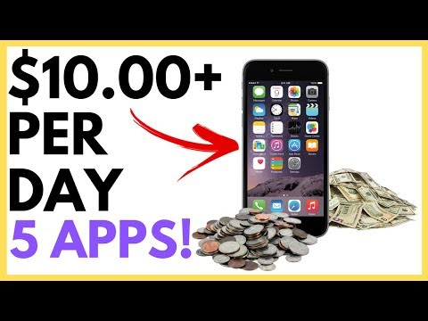 5 Apps That Pay You Money 2019 (FREE Money Making Apps)