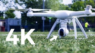4K Drone voor MINDER dan 500 EURO?! - Xiaomi Mi Drone - Review - TechTime
