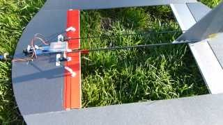 Fast roll rate - hybrid Nutball x O-Fungle with ailerons.