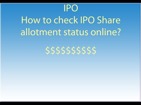 how-to-check-ipo-allotment-status-?