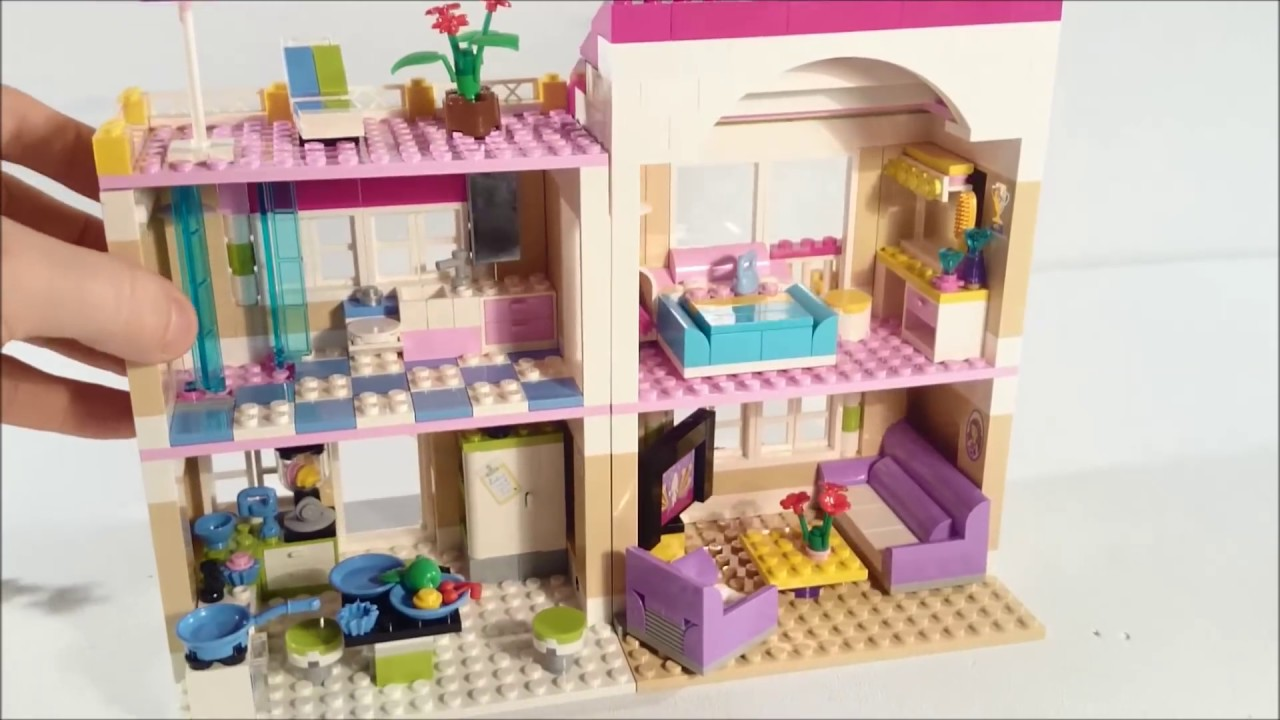 Lego Friends 3315 Olivias Traumhaus Review Youtube