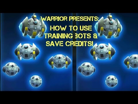 Star Wars Galaxy of Heroes How to use training bots efficiently and SAVE Credits! SWGOH