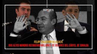 🚨 #ÚLTIMAHORA   FELIPE CALDERÓN CAERÁ: ALTOS MANDOS SUYOS RECIBIERON SOBORNOS DEL CÁRTEL DE SINALOA