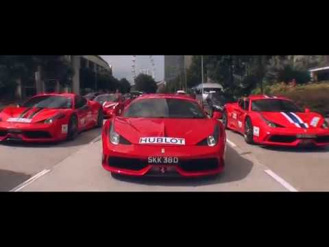 HUBLOT - FERRARI 70TH ANNIVERSARY PARADE IN SINGAPORE