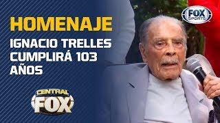 Homenaje A Ignacio Trelles Por Su Cumpleaños 103