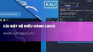 Bài 1: Cài Đặt Hệ Điều Hành Linux