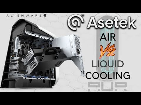 Asetek Liquid Cooling Gpu Solution Vs Air Cooling Performance Benchmarking On Alienware Aurora R11 Youtube