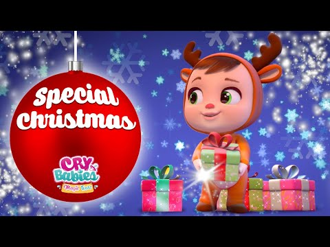 🎁CHRISTMAS COLLECTION #1 🎄CRY BABIES 💦 MAGIC TEARS 💕 40 MINUTES! 😊CARTOONS for kids