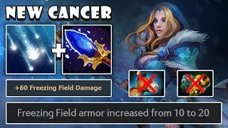 [Crystal Maiden] NEW CANCER How To Be Carry In New Update Highlights Dota 2 7.21b