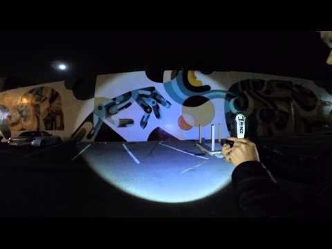 Lumitact G700 Tactical Military LED Flashlight - Night Test - 700 Lumens