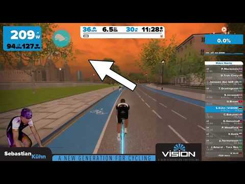 Zwift - New London extension - First look