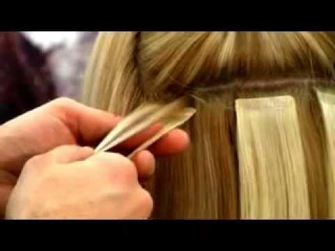 Extension capelli bioadesive