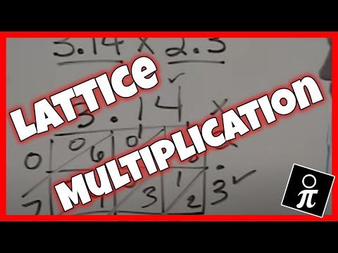 math worksheet : multiplying decimals with the lattice method  youtube : Lattice Multiplication With Decimals Worksheets