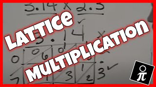 Multiplying Decimals With The Lattice Method