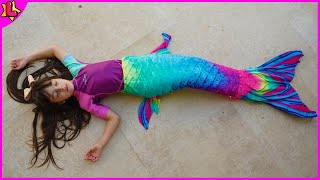 Mysterious Shell Turns Laurinha into Aquatic Mermaid