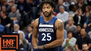 Derrick Rose 2018 NBA Preseason Highlights