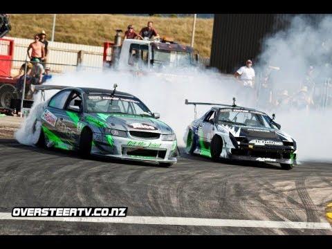 Cody's D1NZ Drifting Highlights - Round 3 Tauranga - 2012/13 Season