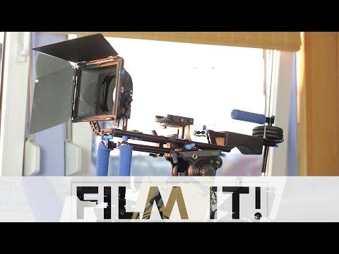 Kamera Rig / Schulterstativ für eine DSLR - Folge 16 - Film it!