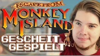 Der Tiefpunkt: Flucht von Monkey Island - Review | Gescheit Gespielt