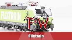 F&W072: Flixtrain von A.C.M.E, PIKO und LS Models