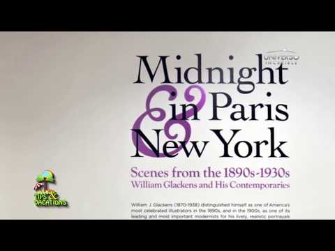 Midnight in Paris New York in Online Art Gallery