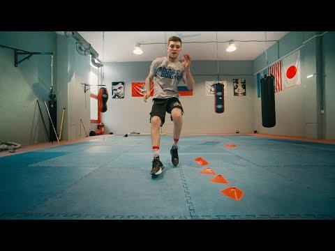 Скорость боксера - в ногах! Упражнения для самостоятельной тренировки