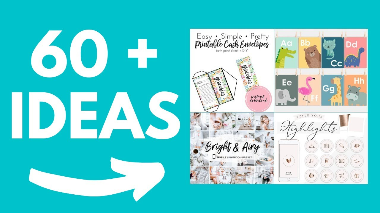20+ Digital Product Ideas To Sell On Etsy To Make Passive Income in 20