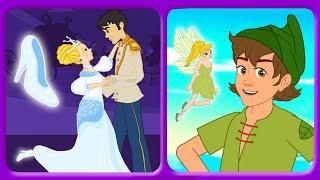 Aschenputtel und Peter Pan | Gute Nacht Geschichte