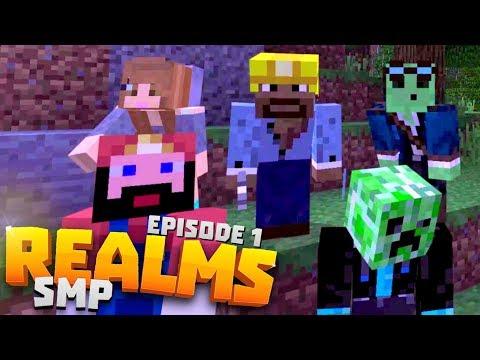 DREAM TEAM! : Ep.1 - Minecraft Realms • Unity SMP