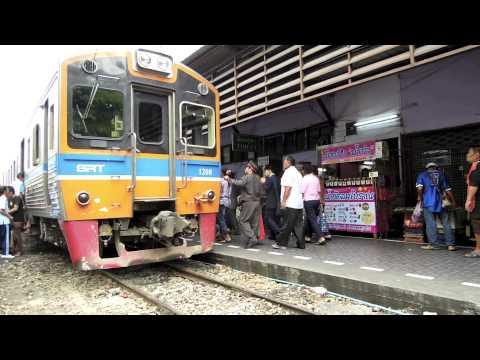 Wongwian Yai -- State Railway of Thailand -- Mae Klong Railway