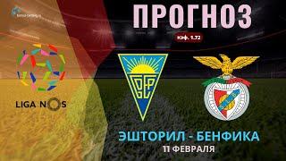 Эшторил Бенфика прогноз на 11 февраля Прогнозы на футбол Прогнозы на футбол на сегодня