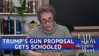 Meet The School Teacher Ready For Her Gun