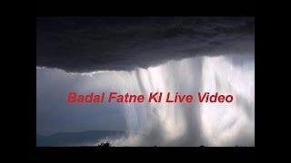 Cloud bursts of live video