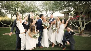 Chip & Danielle Arizona Wedding || October 2020