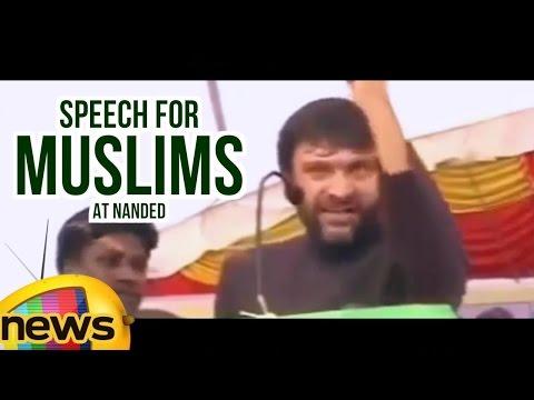 AIMIM Leader Akbaruddin Owaisi Inspirational Speech For Muslims At Nanded   Maharashtra   Mango News
