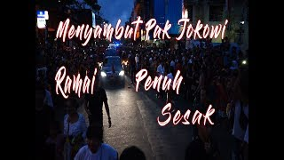 Download Video Antusias Sambutan Warga Bali ke Bapak Jokowi MP3 3GP MP4