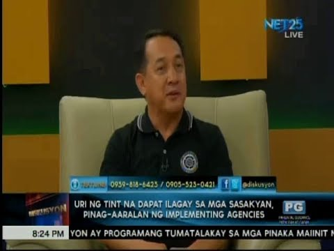 Diskusyon: Dir. Francis Ray Almora, Land Transportation Office  (June 30, 2017)