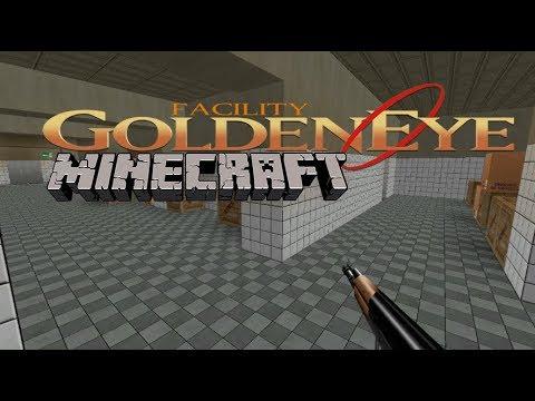 Minecraft Map:GoldenEye 64 - Facility HD on goldeneye dam map, goldeneye surface 2 map, goldeneye n64 xbox minecraft map,