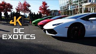 [4K VIDEO] DC Exotics Supercar Event // McLaren P1 // Aventador SV // Ferrari