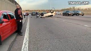 Unbelievable Car Crash Compilation   Horrible Driving Fails Of 2019 (part 16)