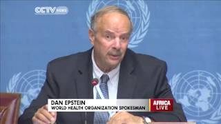 World Health Organization puts death toll from Ebola at 481