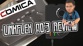 COMICA LinkFlex AD-3 Mobile Powered PreAmp/Mixer Review